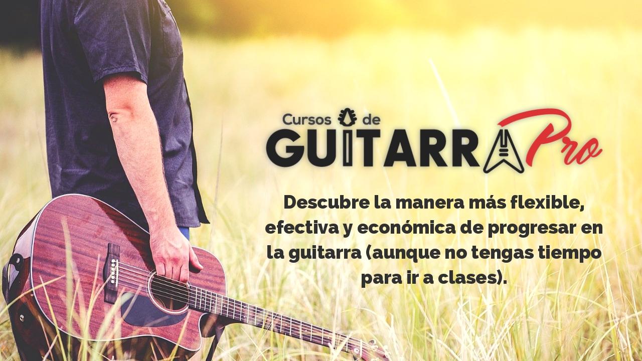 Escuela de Guitarra Online Cursos de Guitarra Pro